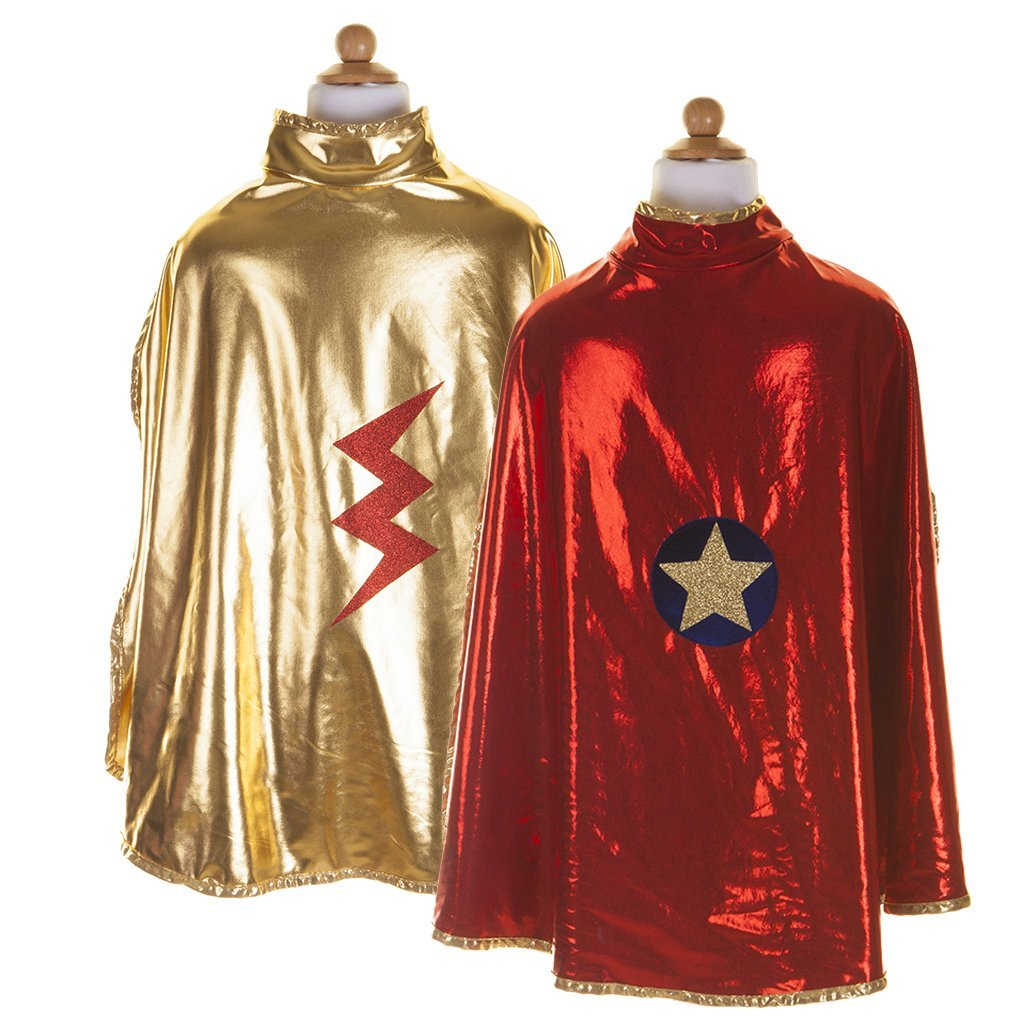 Red and Gold Wonder Cape,56055