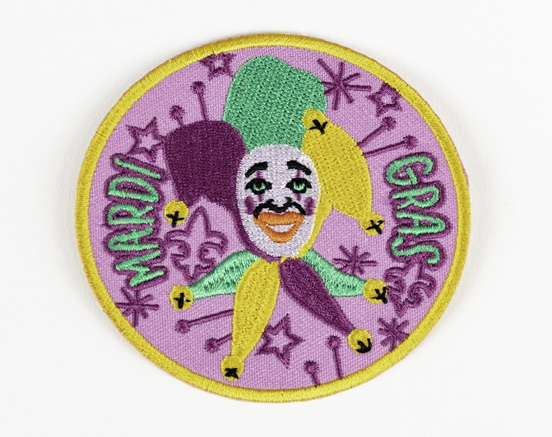 Mardi Gras Patch,10250