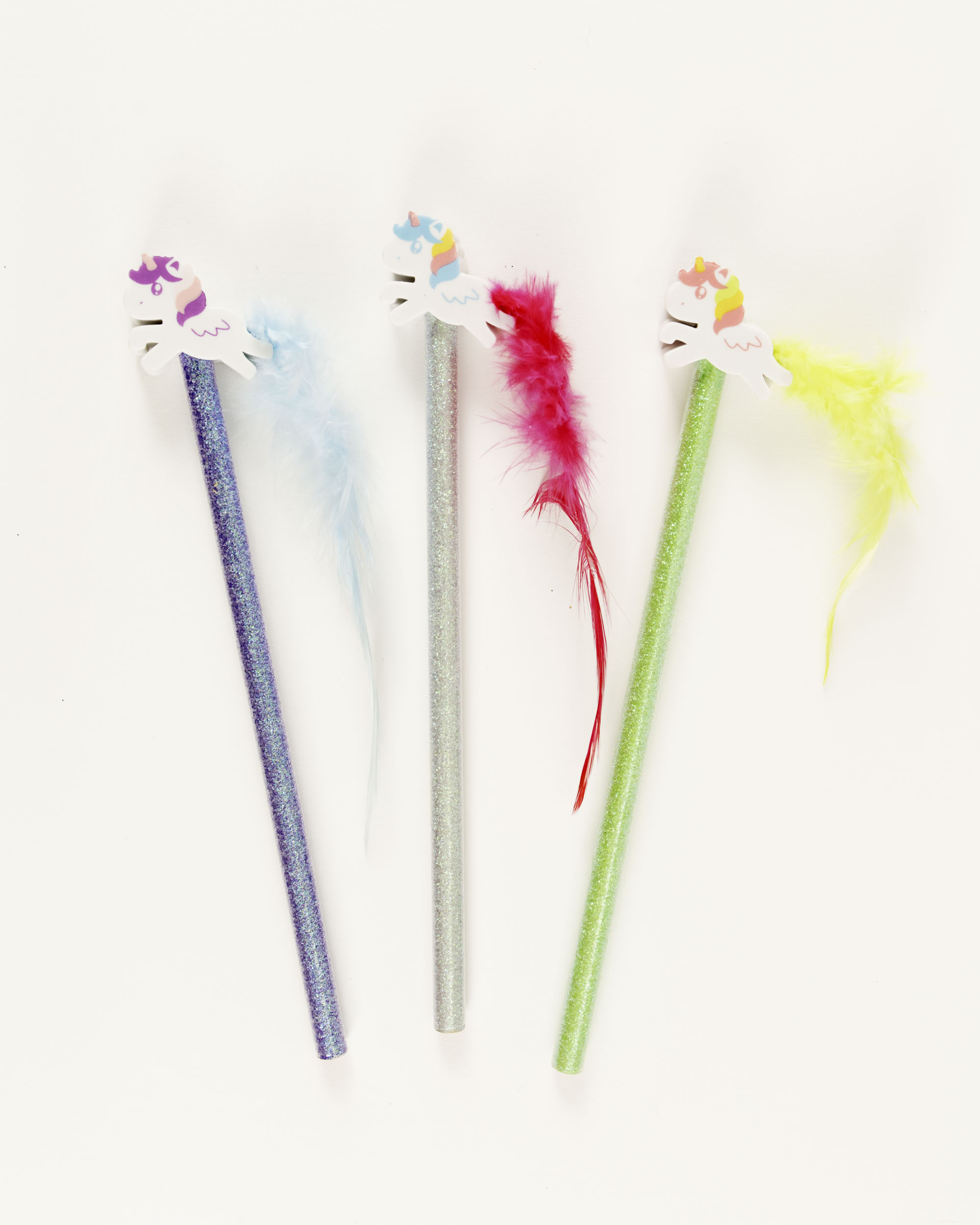 Sparkle Unicorn Pencil & Eraser Set,AER045