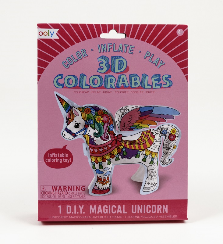 3D Colorables- Magical Unicorn,161-018