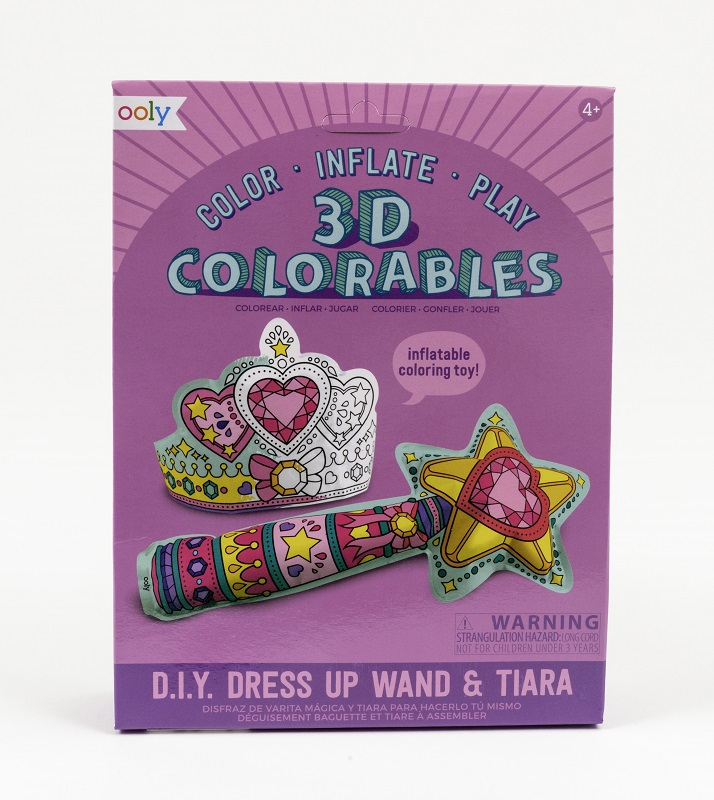 3D Colorables- Wand & Tiara,161-021