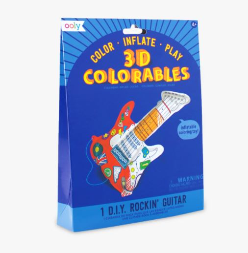 3D Colorables Rockin' Guitar,161-016