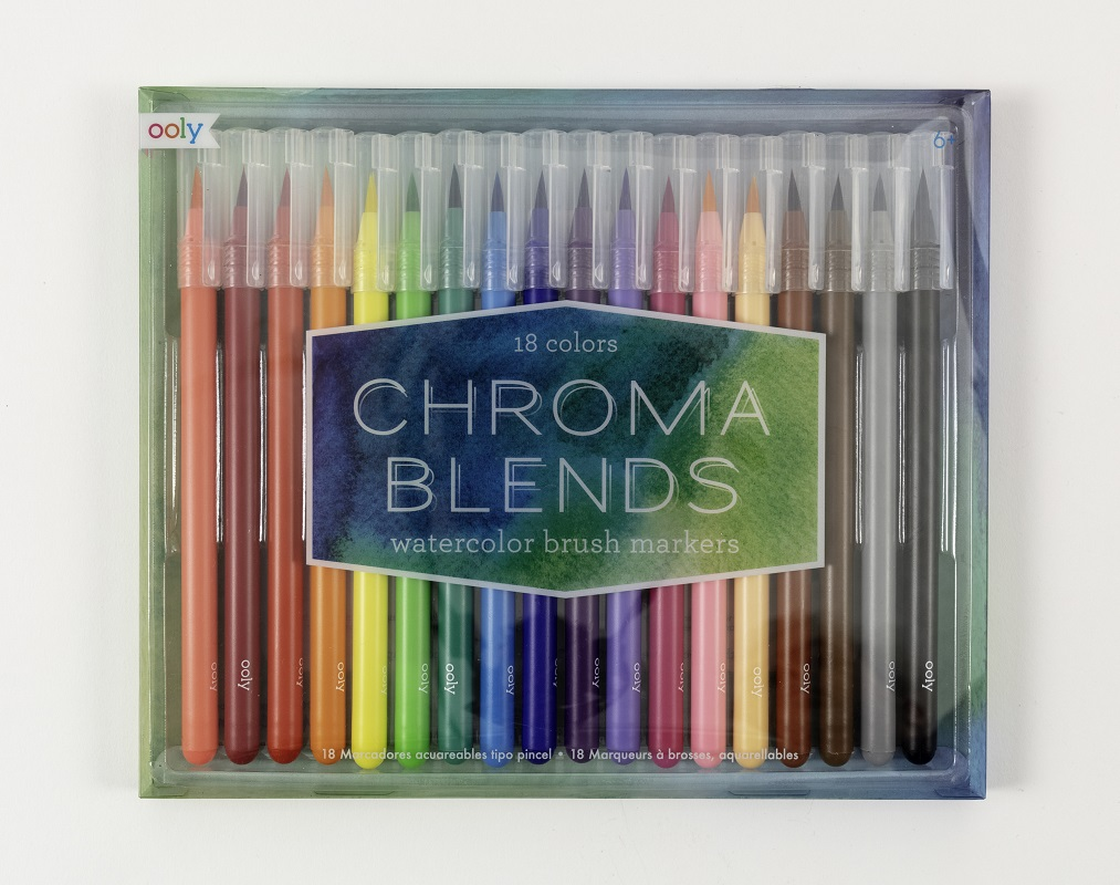 Chroma Watercolor Brush Markers,130-057