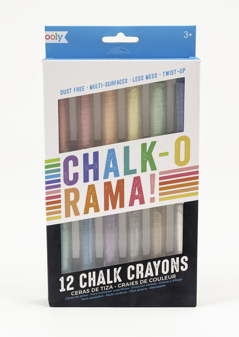 Chalk-o-Rama Dustless Chalk,124-003
