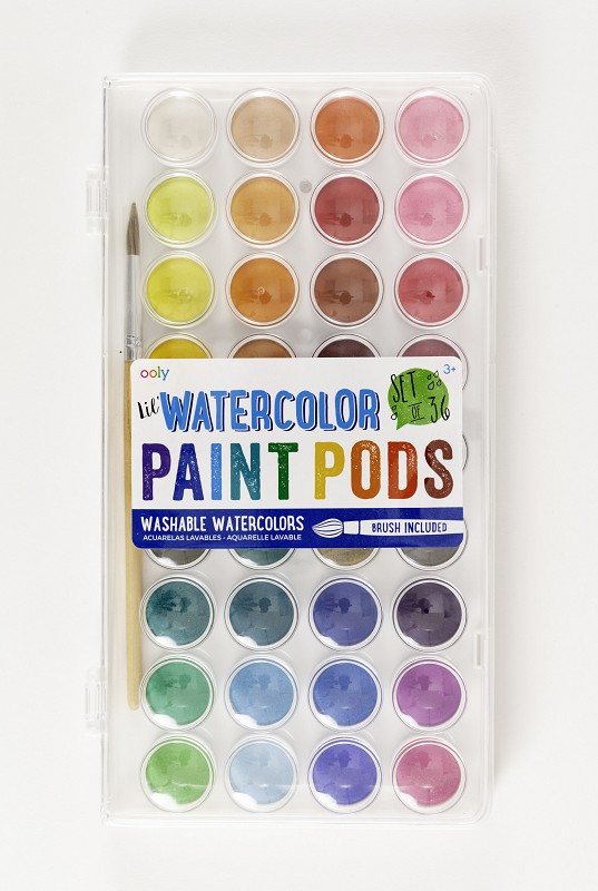 Lil' Watercolor Paint Pods,126-2