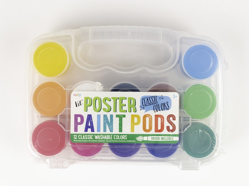 Lil' Poster Paint Pods,126-1