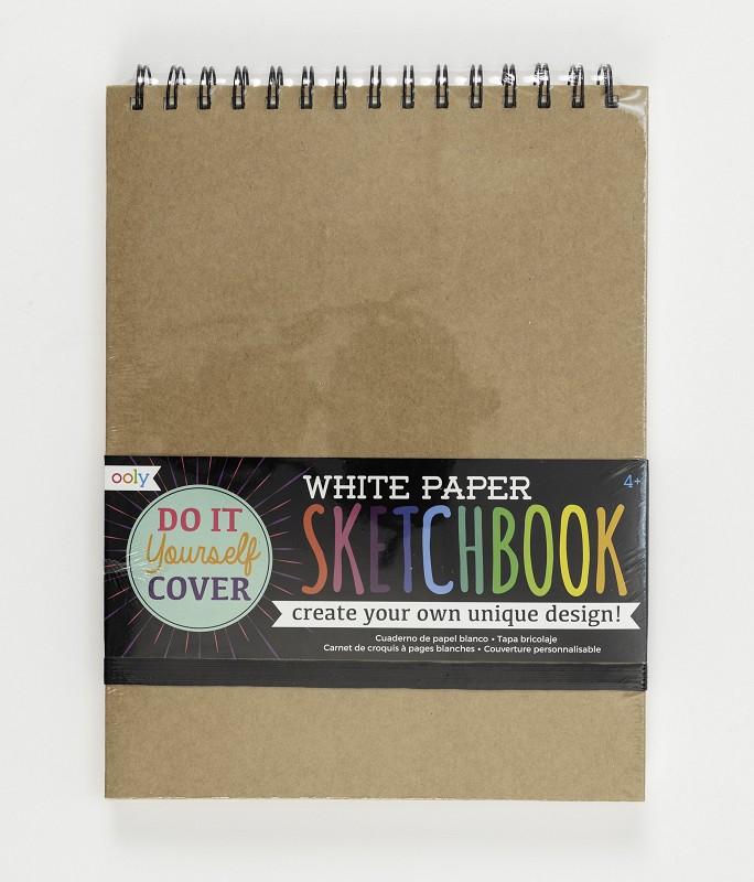 DIY Sketchbook,118-SK-WHT