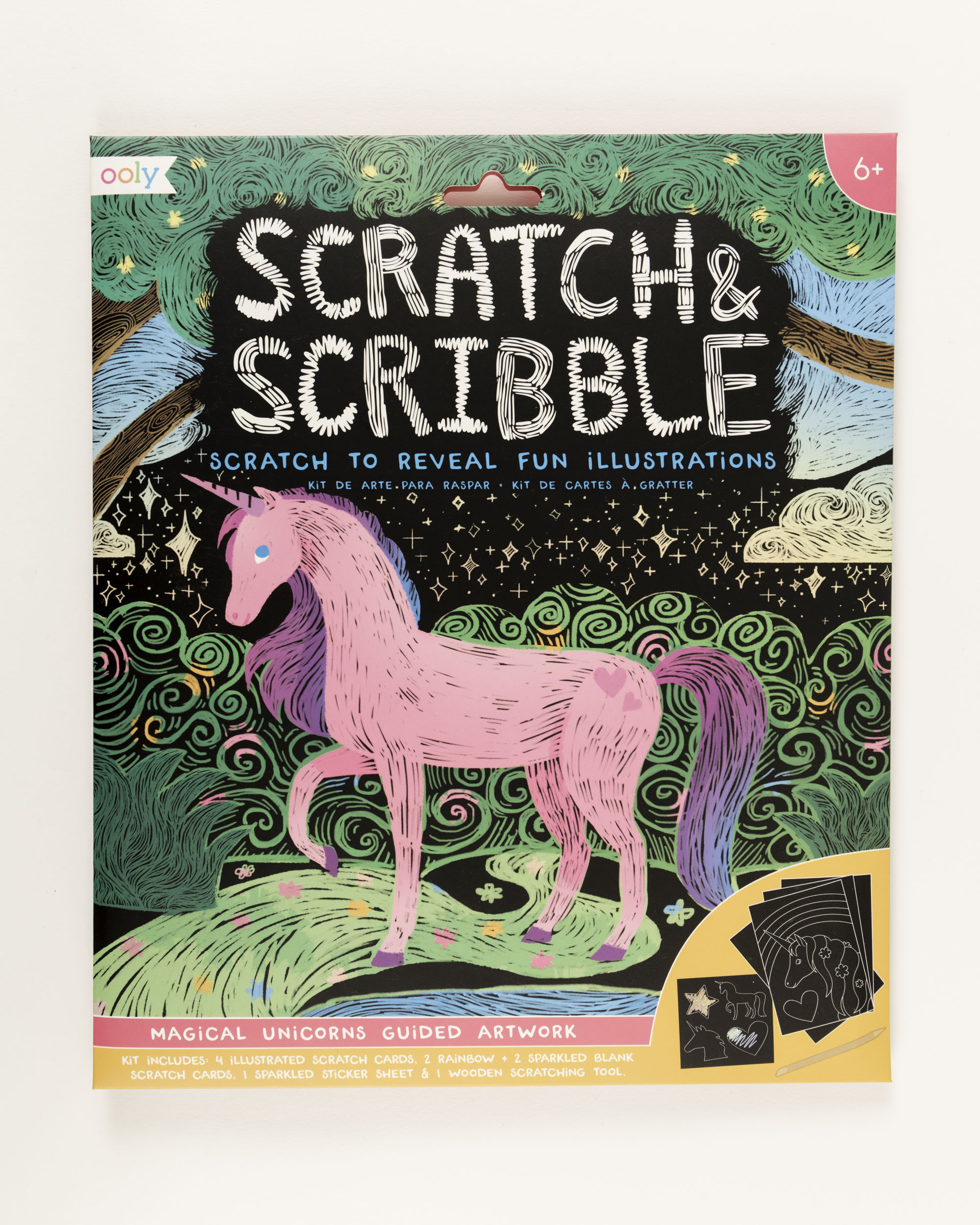 Unicorn Scratch and Scribble,161-027