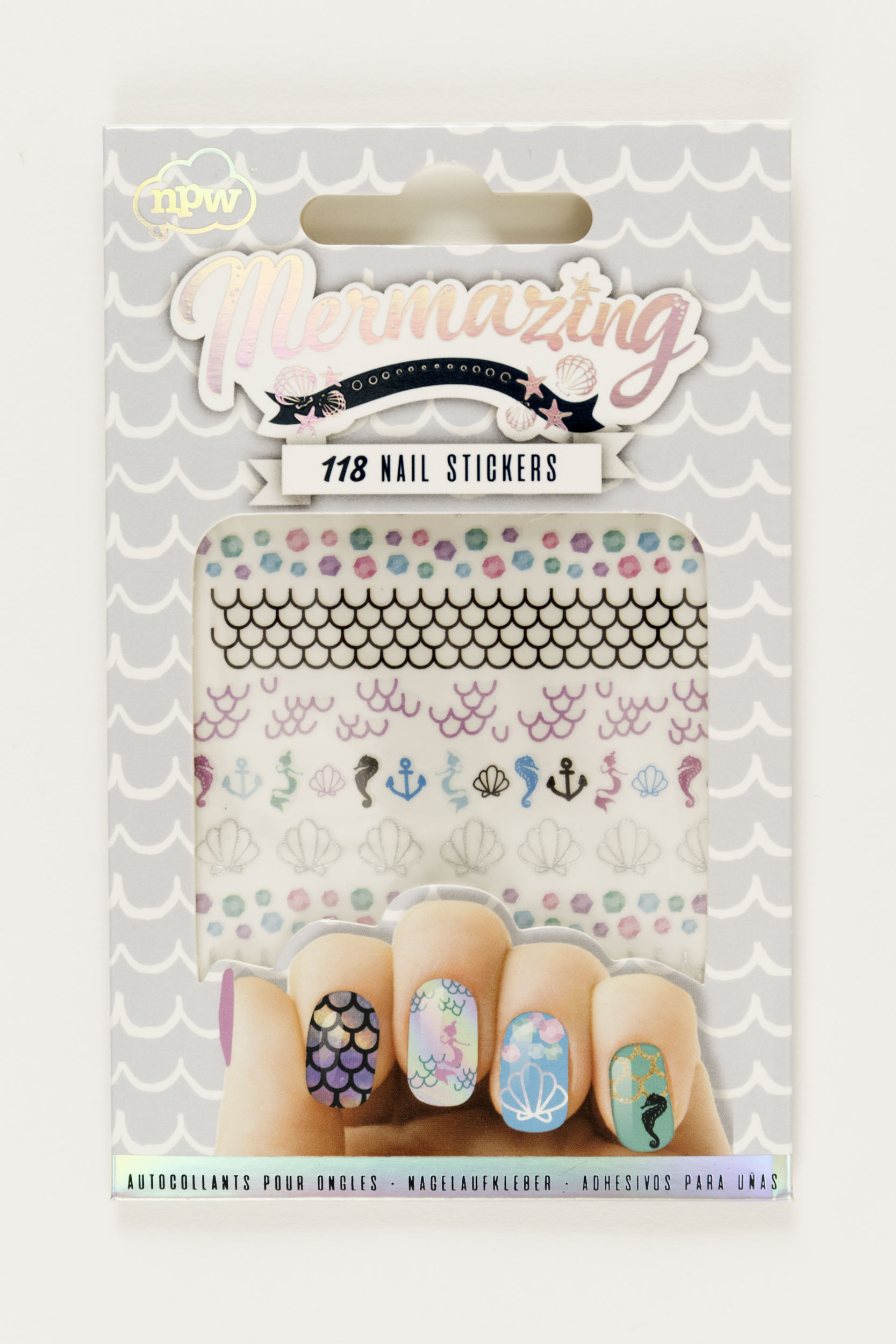 Mermaing Nail Stickers,61178