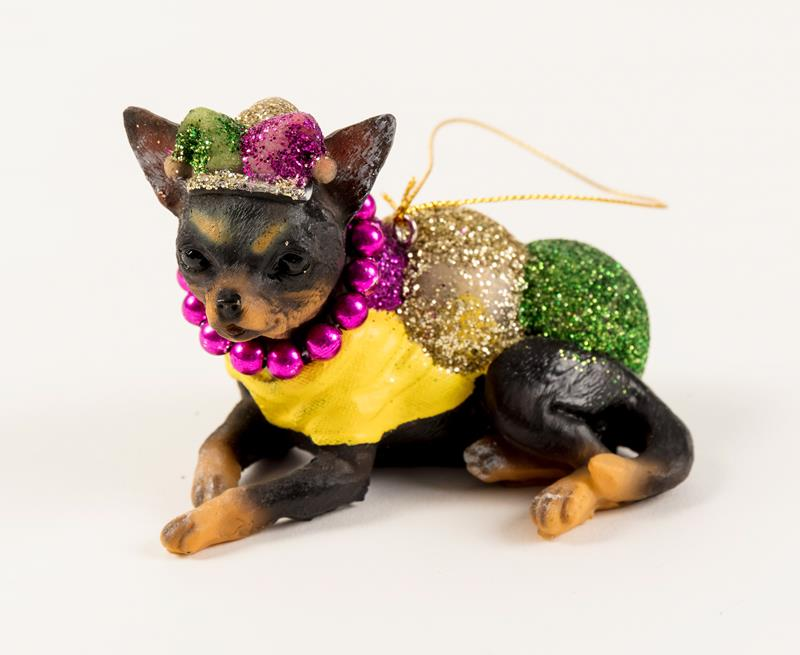 Chihuahua with beads Ornament,S02