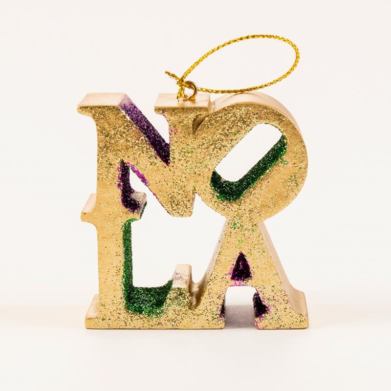 NOLA Sculpture Ornament,S06