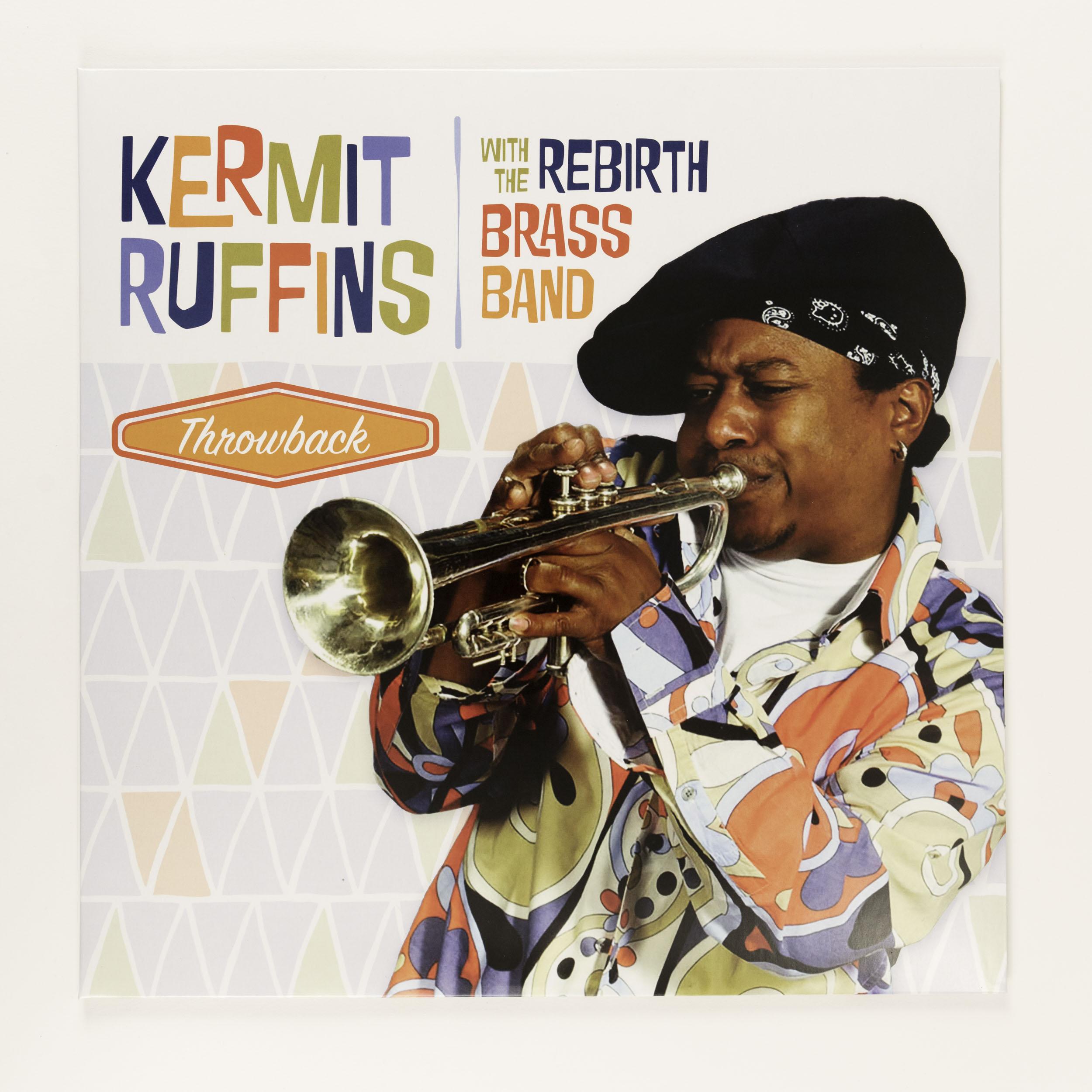 Kermit Ruffins with Rebirth Vinyl,KERMIT REBIRTH VINYL
