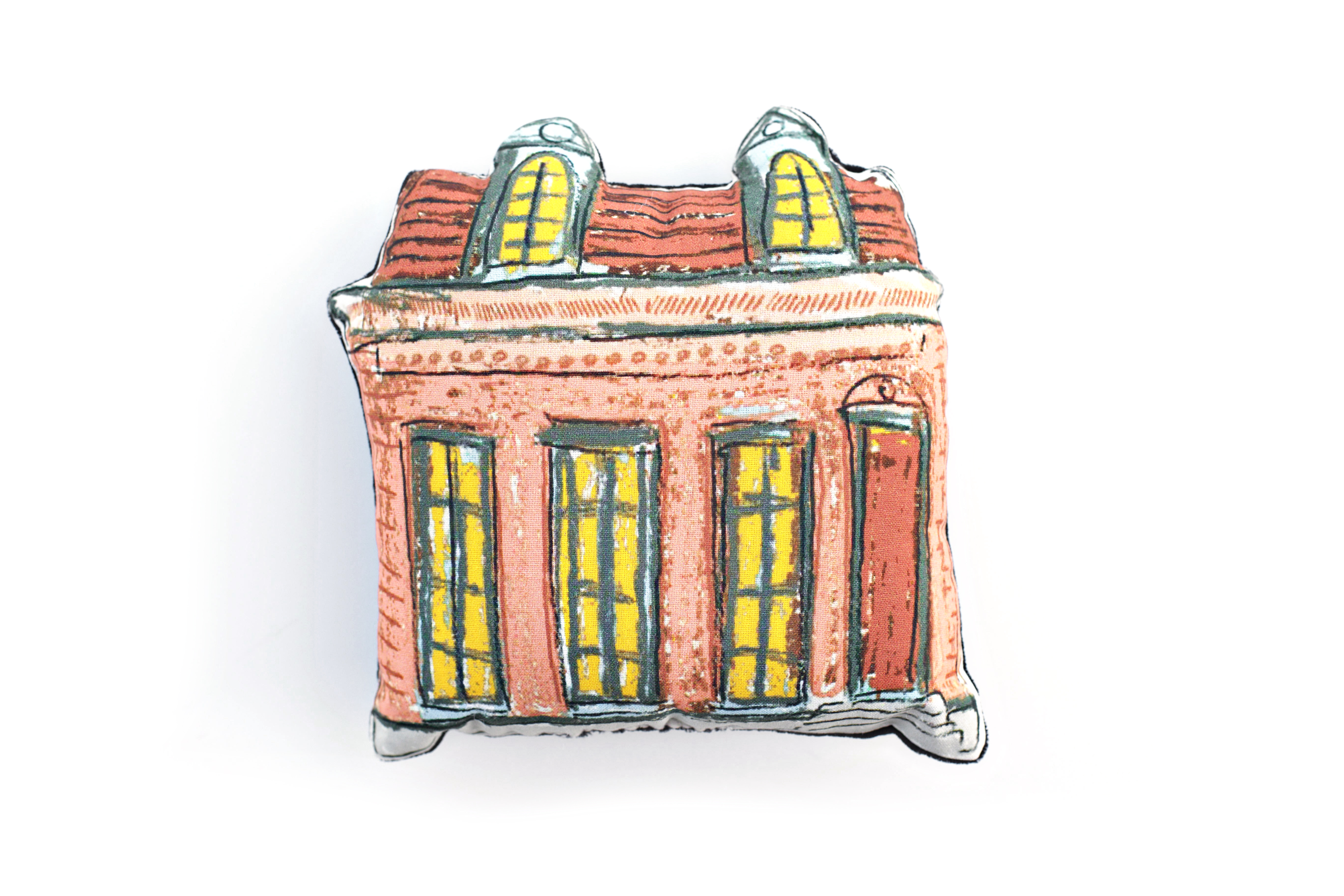 Creole Cottage Pillow- Peach,10292