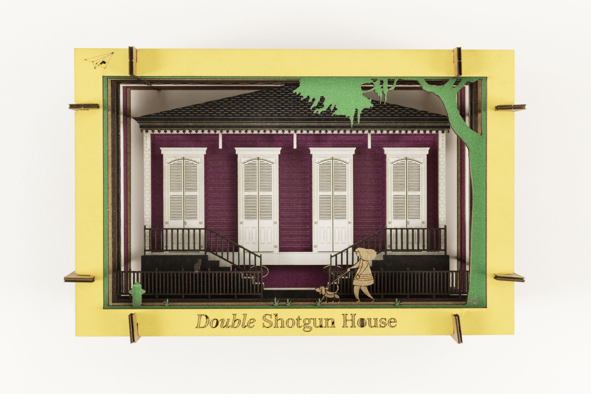 Double Shotgun Diorama