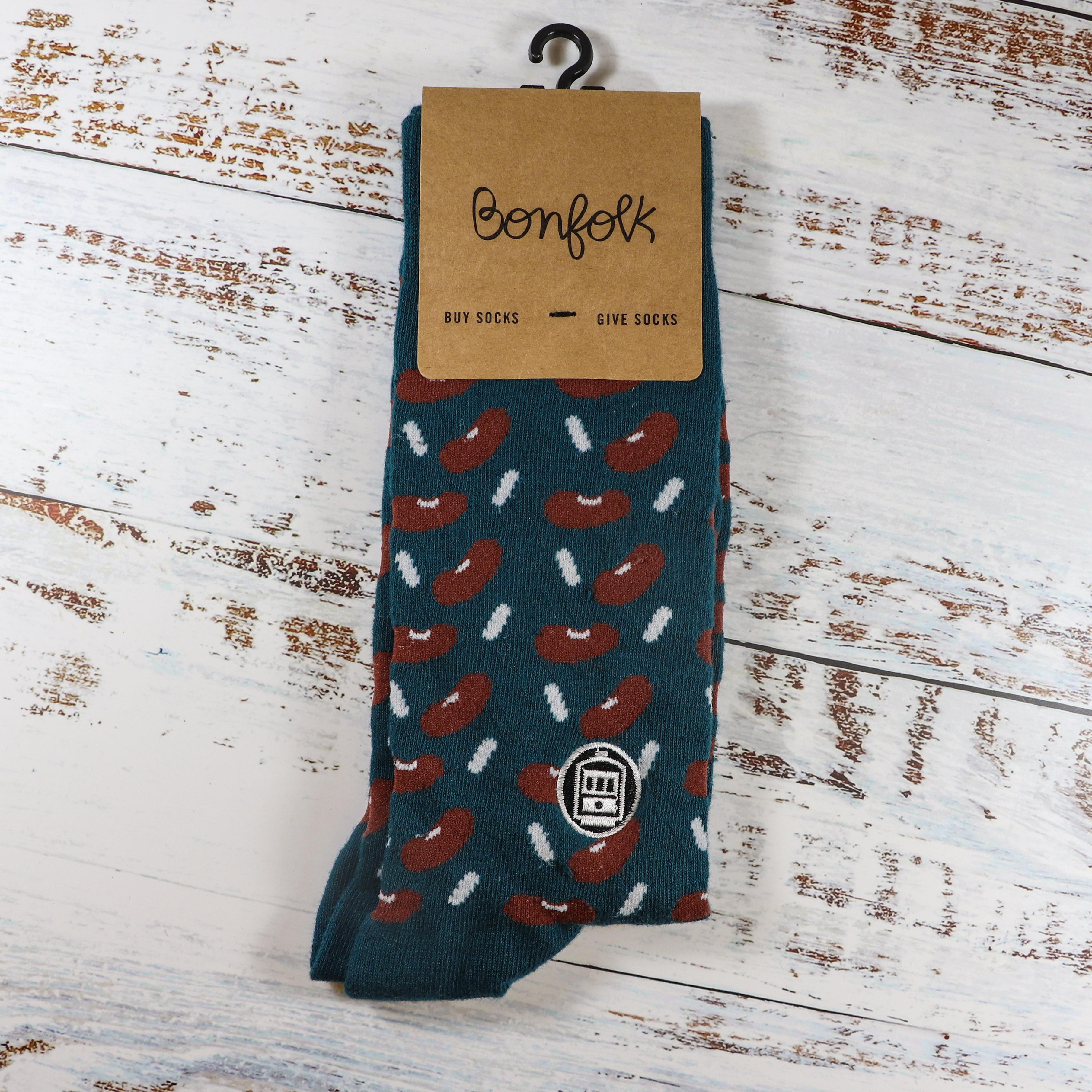 Red Beans Socks