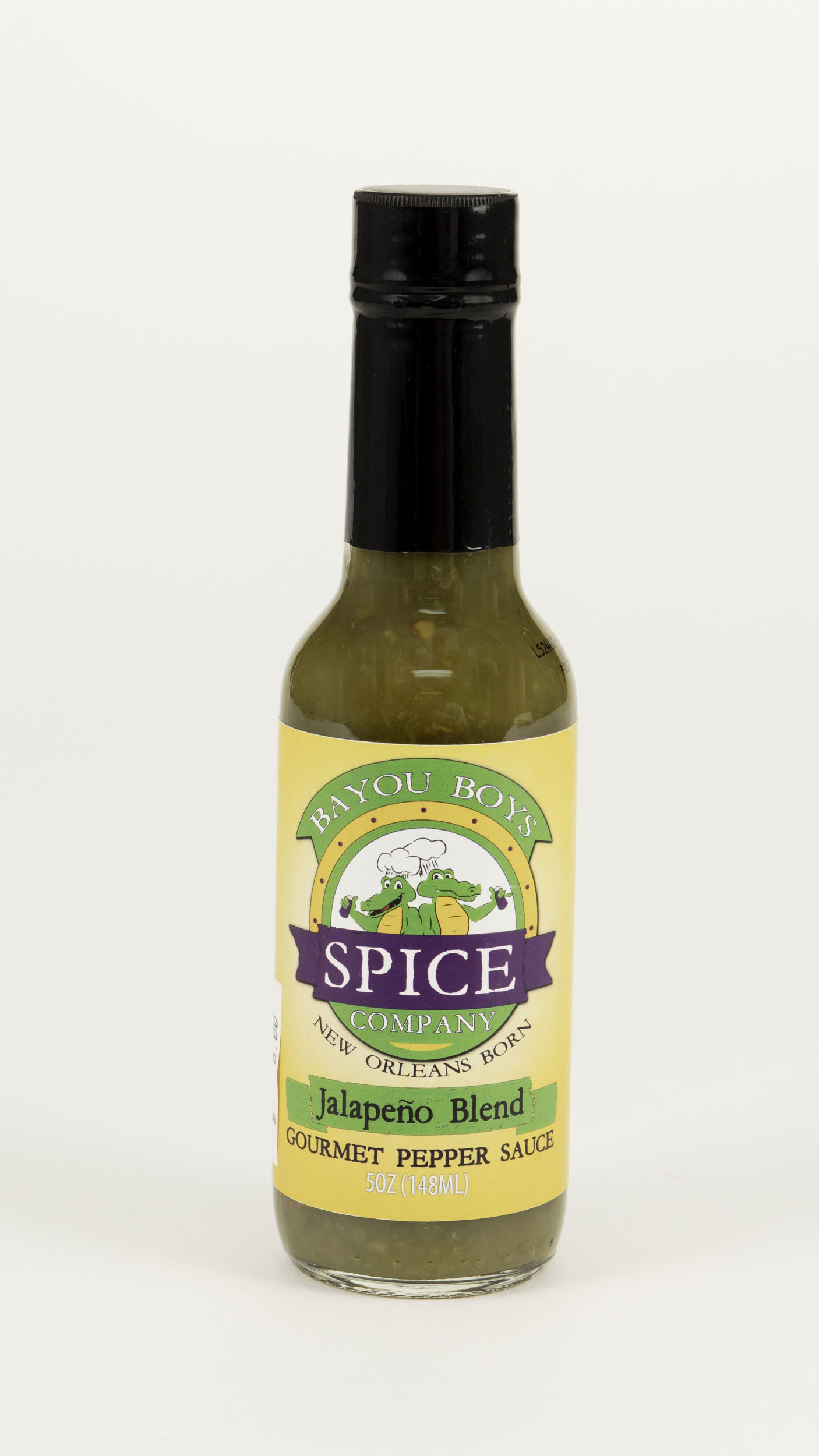 Bayou Boys Jalapeno Blend Pepper Sauce,20150