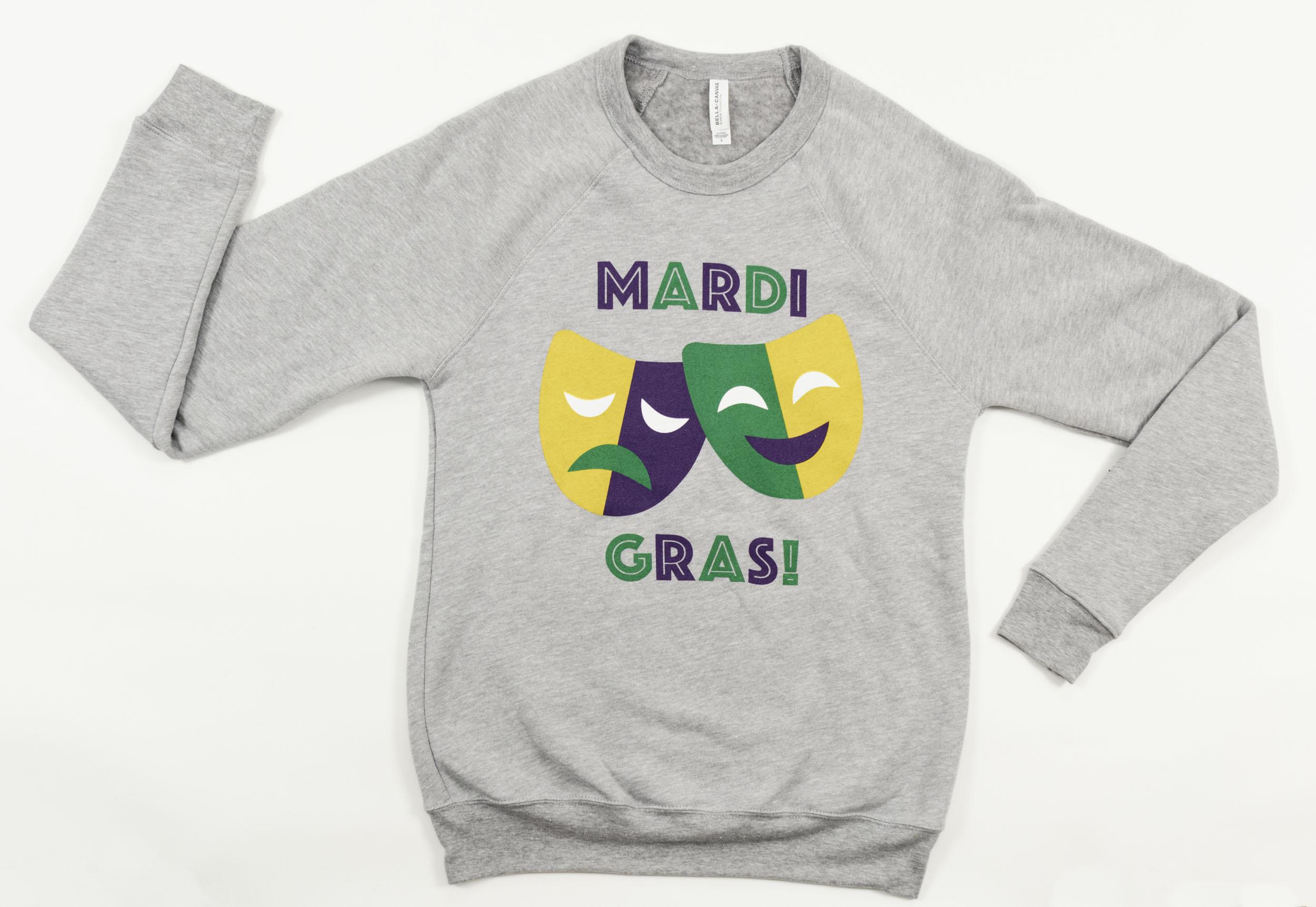 Carnival Mask Sweatshirt