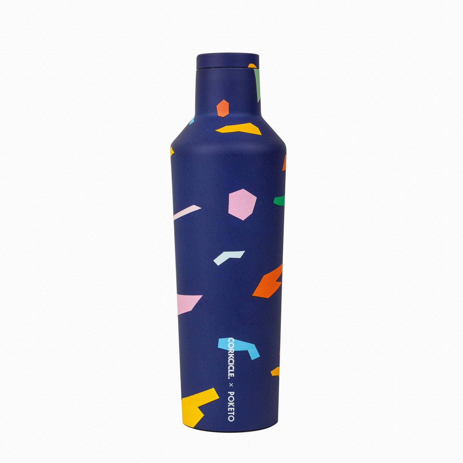Canteen- 16oz Custom Blue Confetti,POK2016PBC