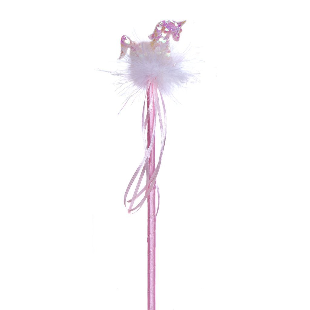 Unicorn Sequin Wand Pink,15210