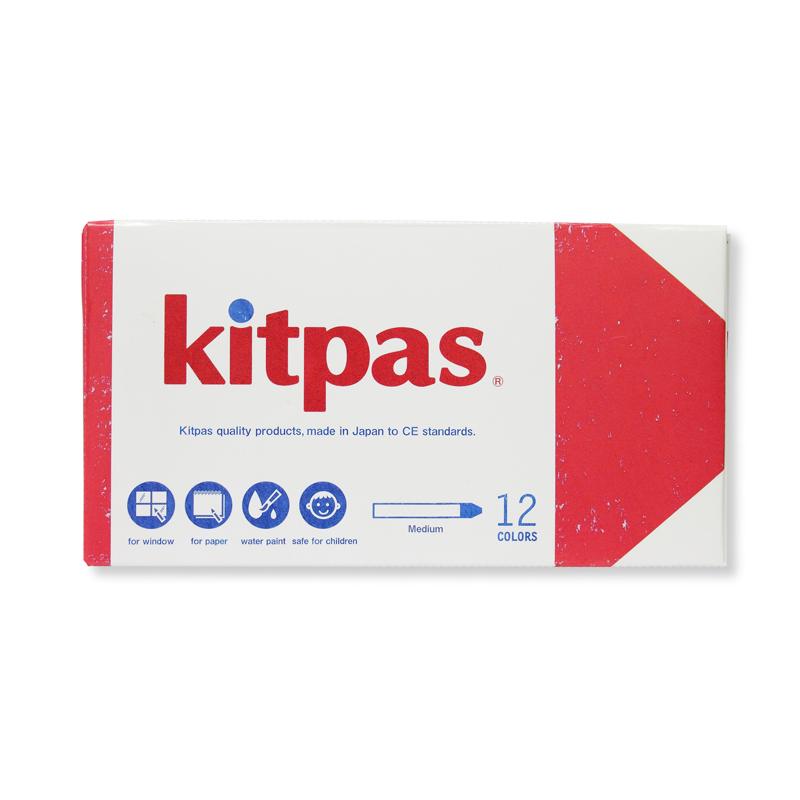 Kitpas Medium 12 Colors,KM-12C