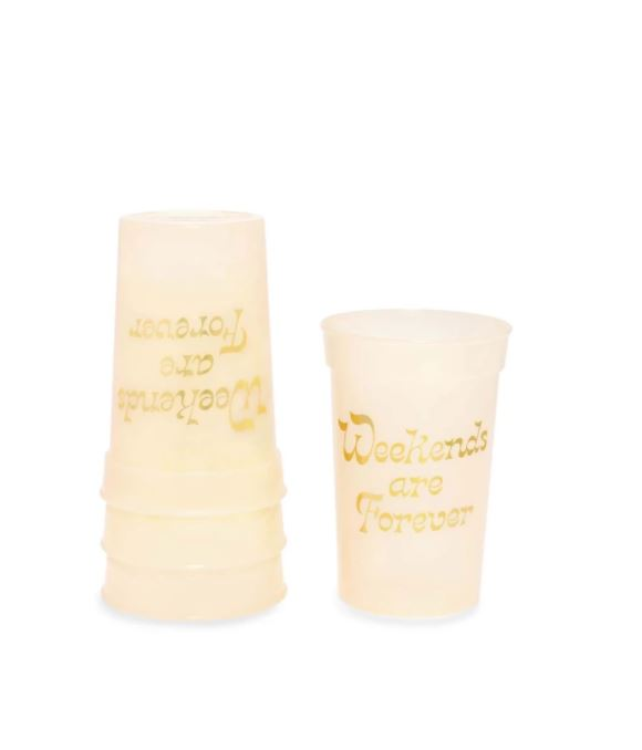 Deluxe Party on Plastic Party Cup, Weekends are Forever,92707