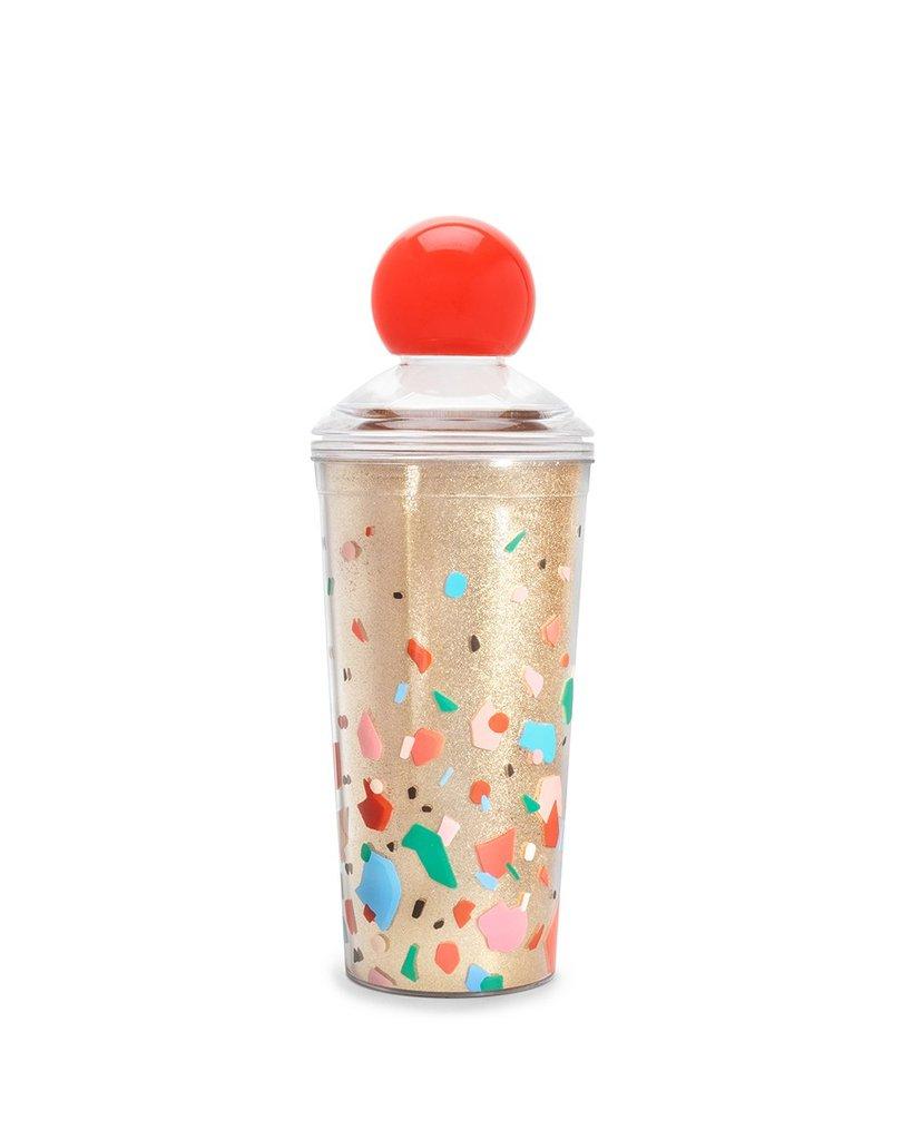 Glitter Bomb Cocktail Shaker, Confetti,87526