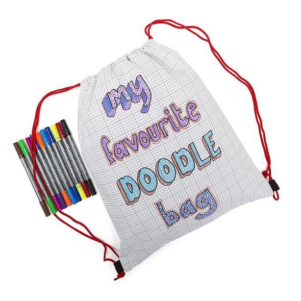 The Doodle Backpack,DBAG