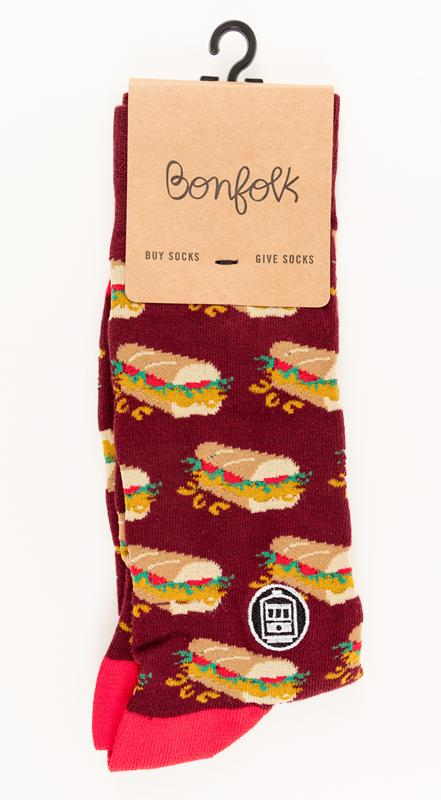 PoBoy Bonfolk Sock