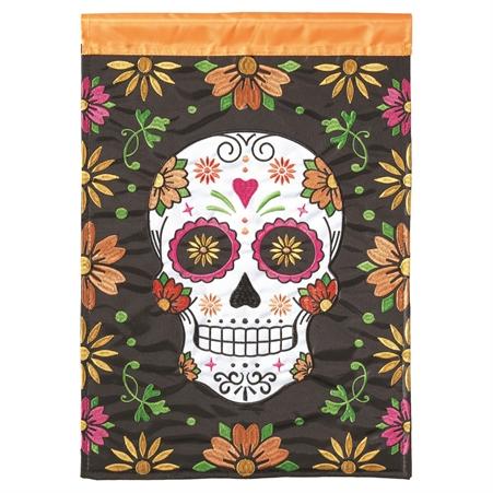 Sugar Skull Garden Flag,01473