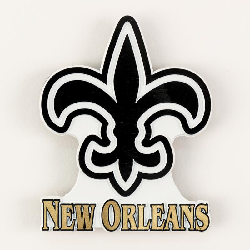 Fleur de Lis New Orleans Magnet,157000