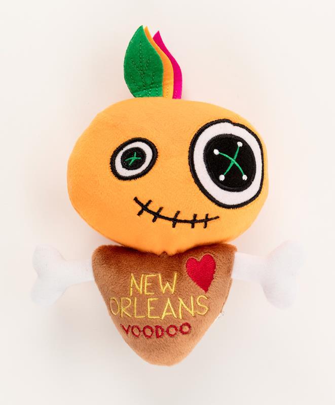 Orange Plush Voodoo Doll,9586VUDO