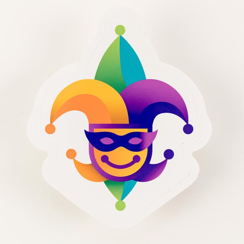 Jester Sticker