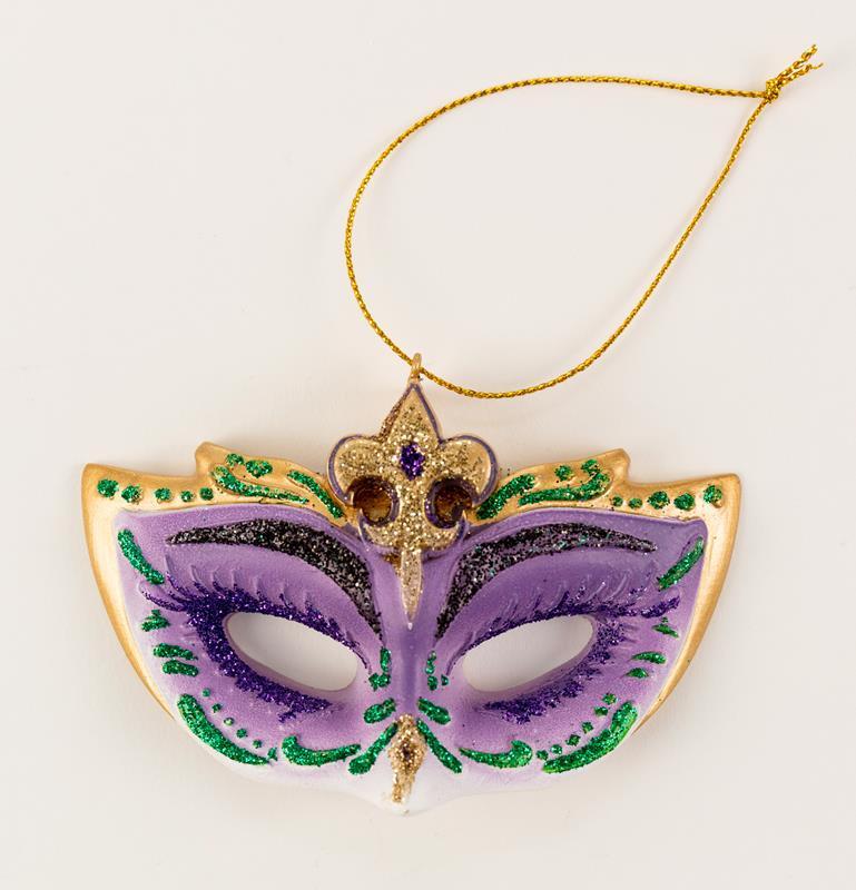 Jester Mask Ornament,T105