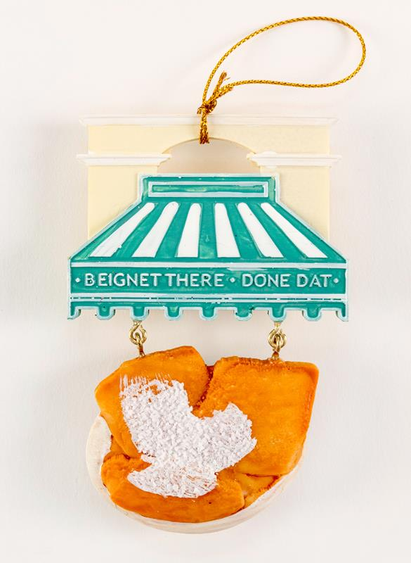 Beignet There Done That Ornament,T103