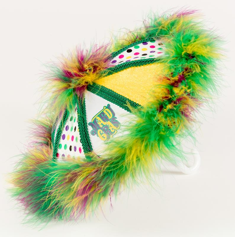 Mini Mardi Gras Second Line Umbrella,MINI MARDI GRAS